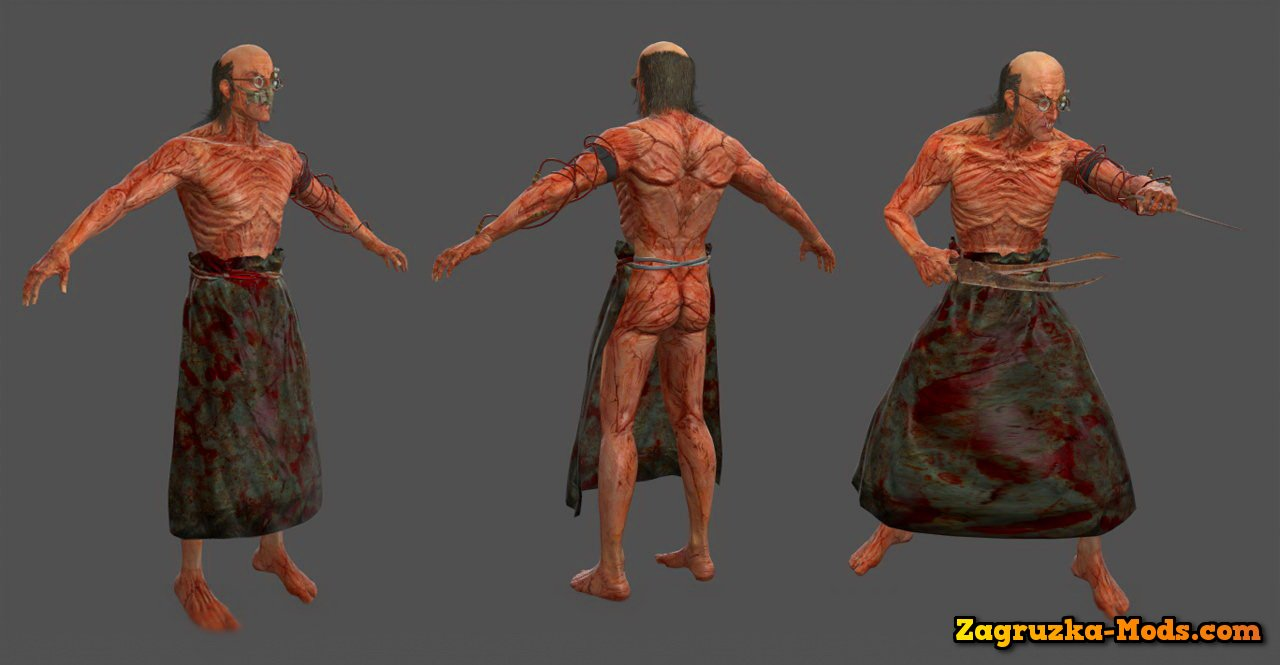 Model Dr. Trager for Zombie mode for CS:GO