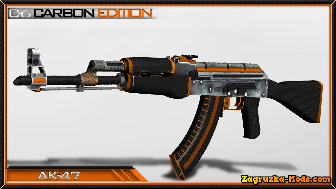 Skin AK-47 C-6 Carbon Edition for CS:GO