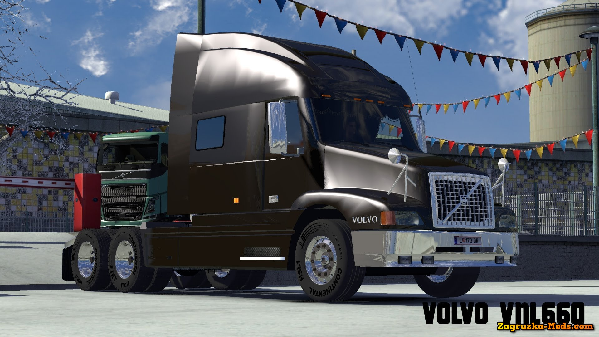 Volvo 660 for ETS 2