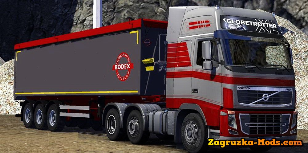 Bodex Tipper Trailer for ETS 2