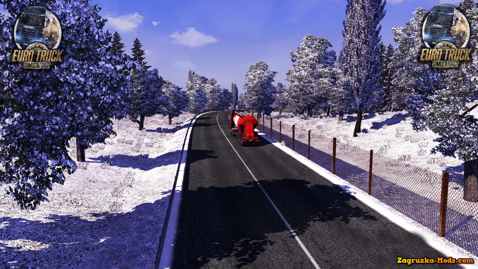 Frosty Late/Early Winter Weather Mod v3.0 for ETS 2