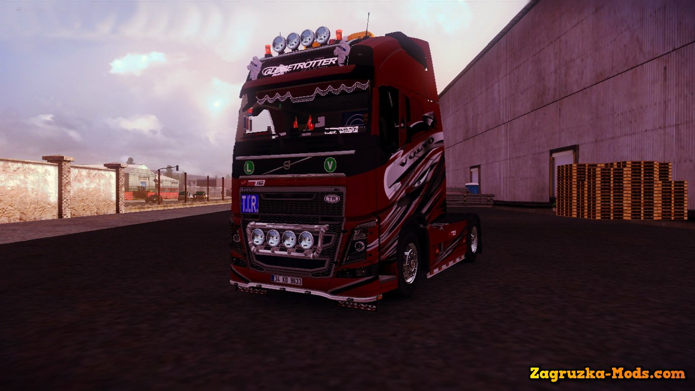 Volvo FH16 2012 Edit + Interior v3.0 for ETS 2