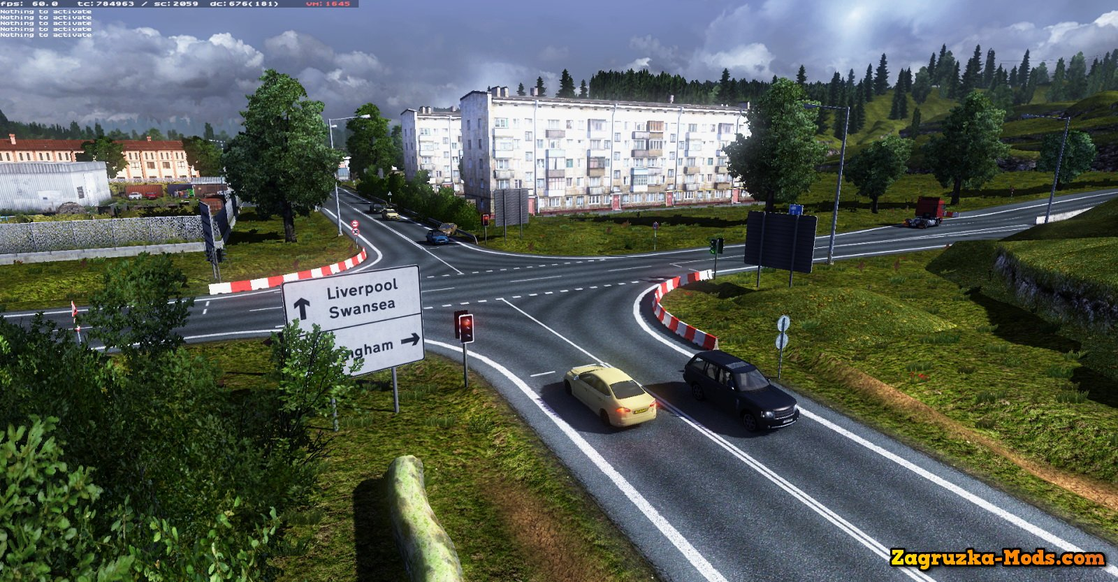 MHAPro map Eu v1.7.1 by MsHeavyAlex for ETS 2
