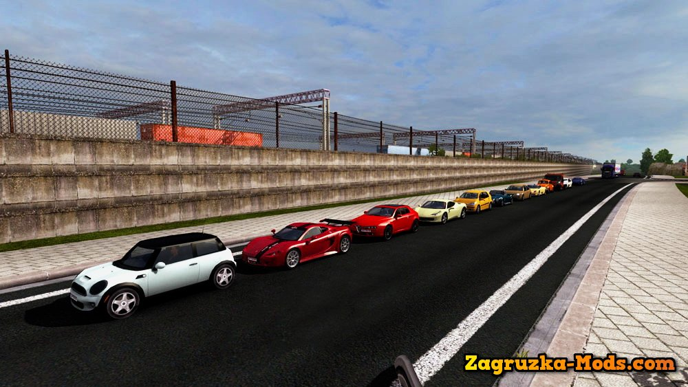 Test Drive Unlimited Traffic Pack Reworked for ETS 2 » Download