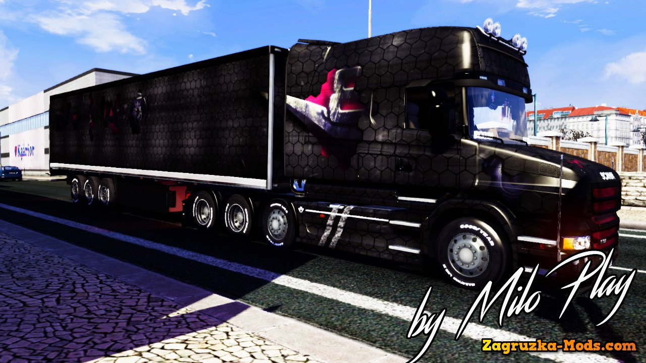 Fureless Edition Combo Pack for Scania T Longline v1.0 for ETS 2
