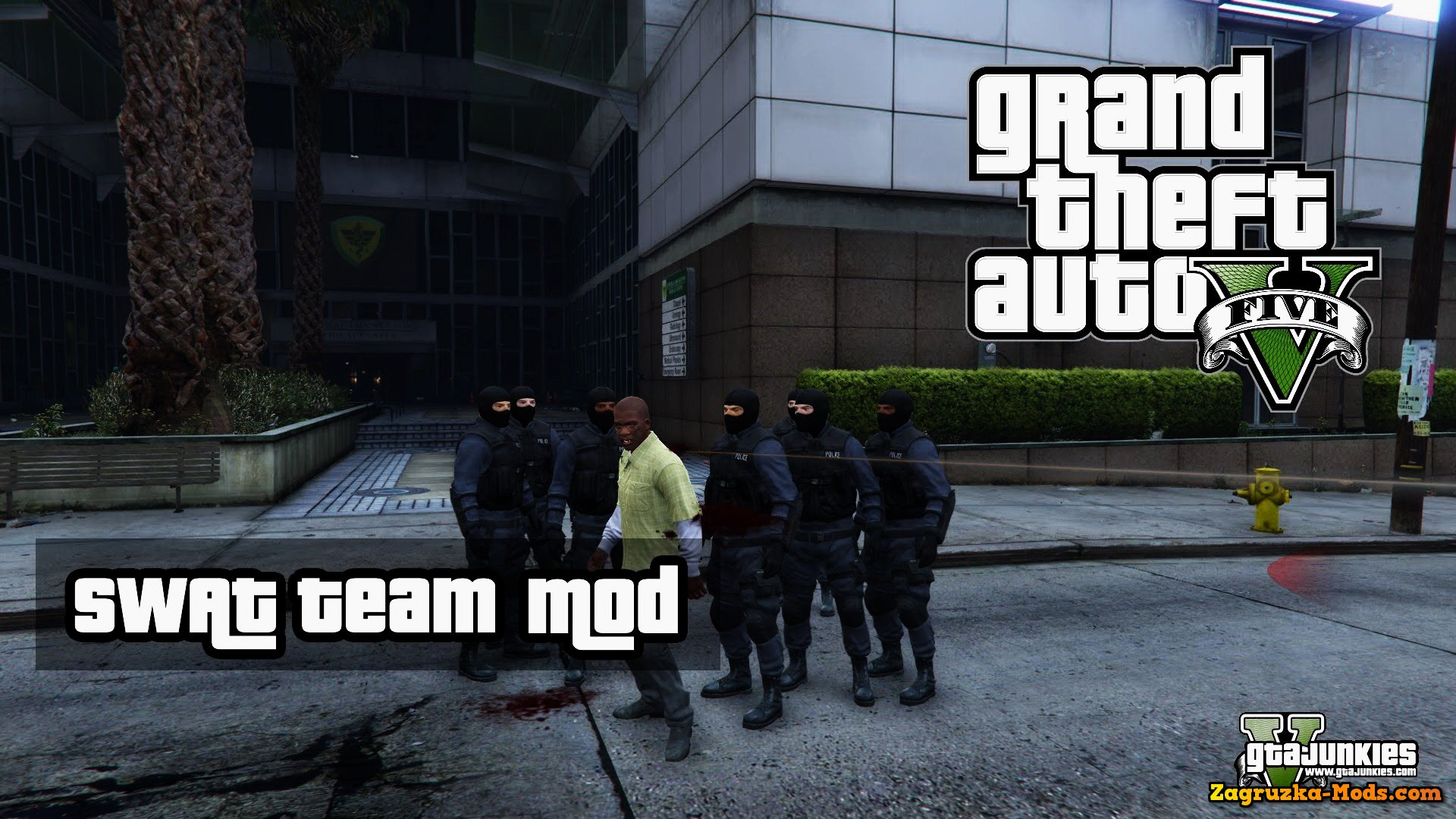 SWAT Team Mod v0.1 for GTA 5