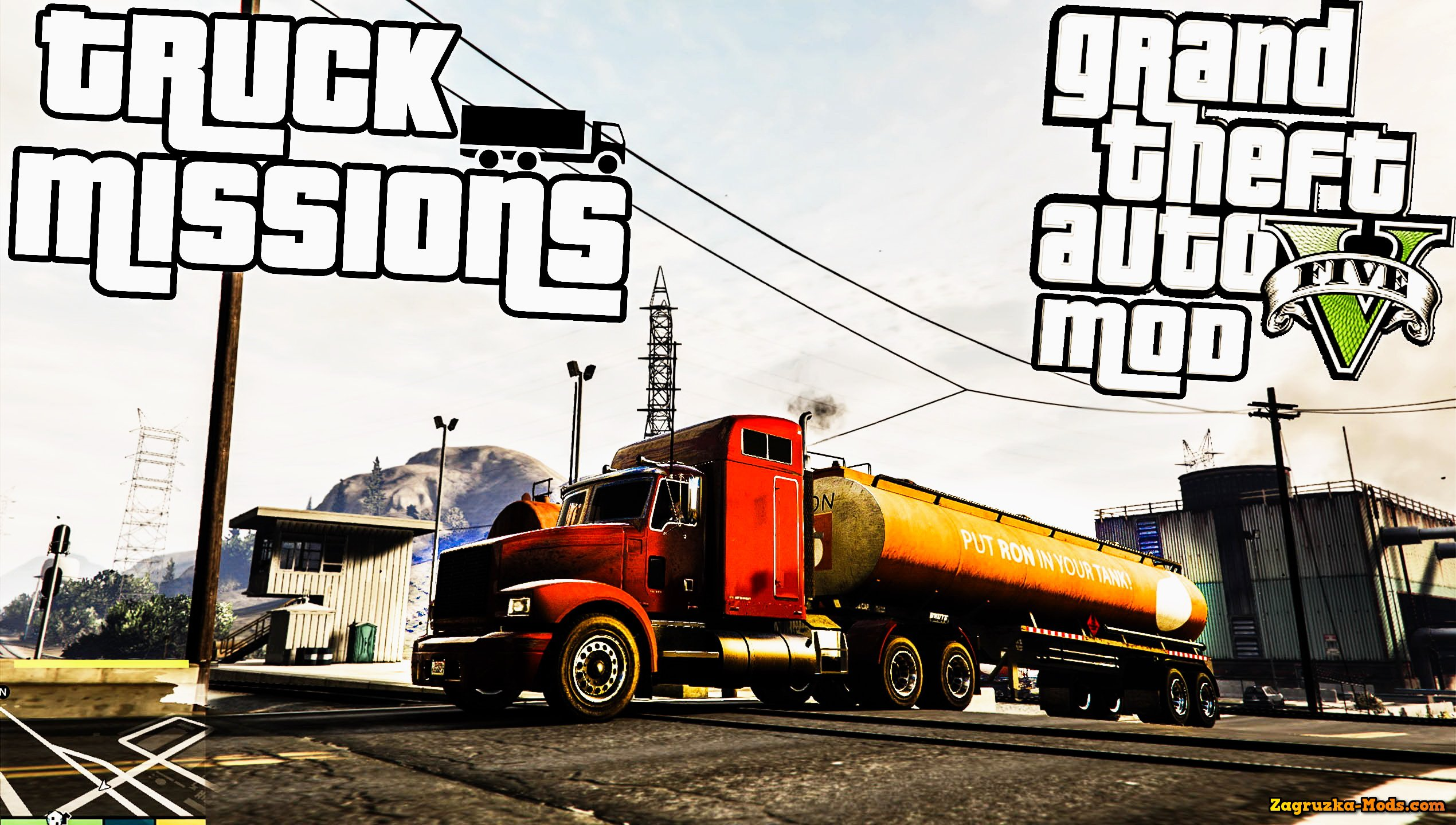 Trucking Missions v1.3 by Guadmaz for GTA 5