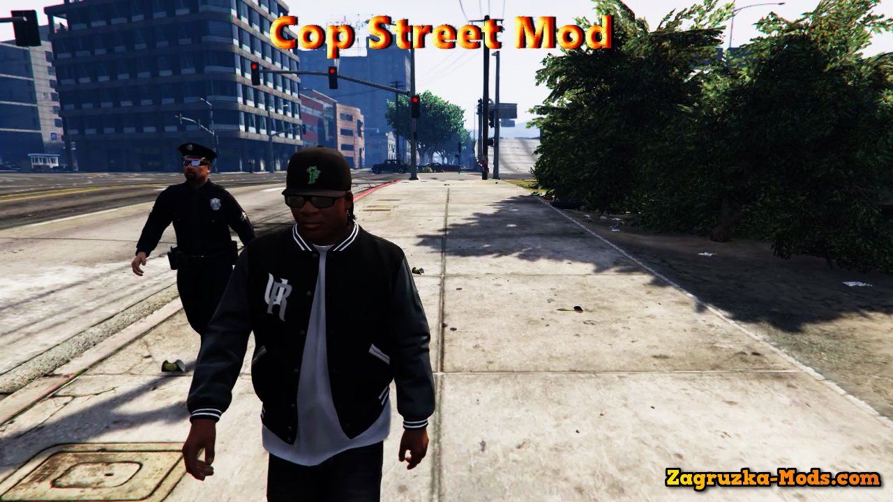 Cop Street Mod v1.1 for GTA 5