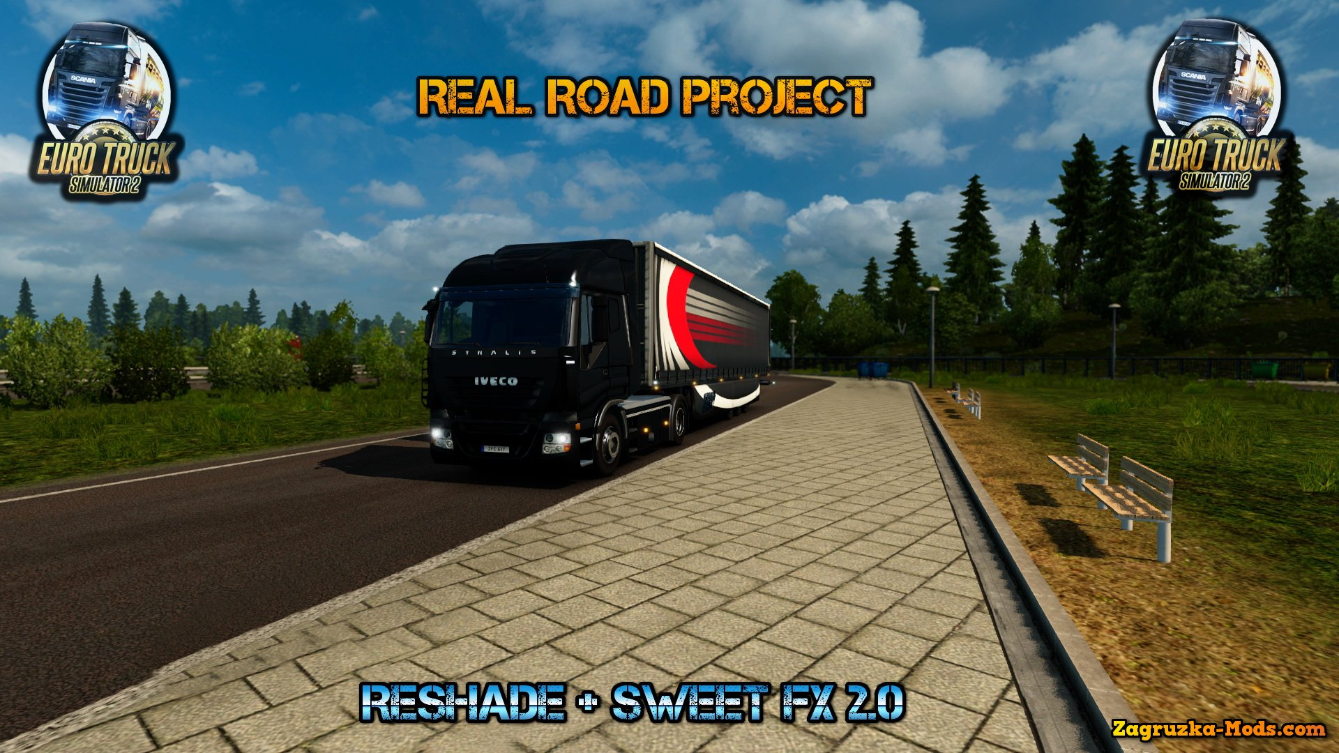 Real Road Project (Reshade + Sweet FX 2.0) for ETS 2