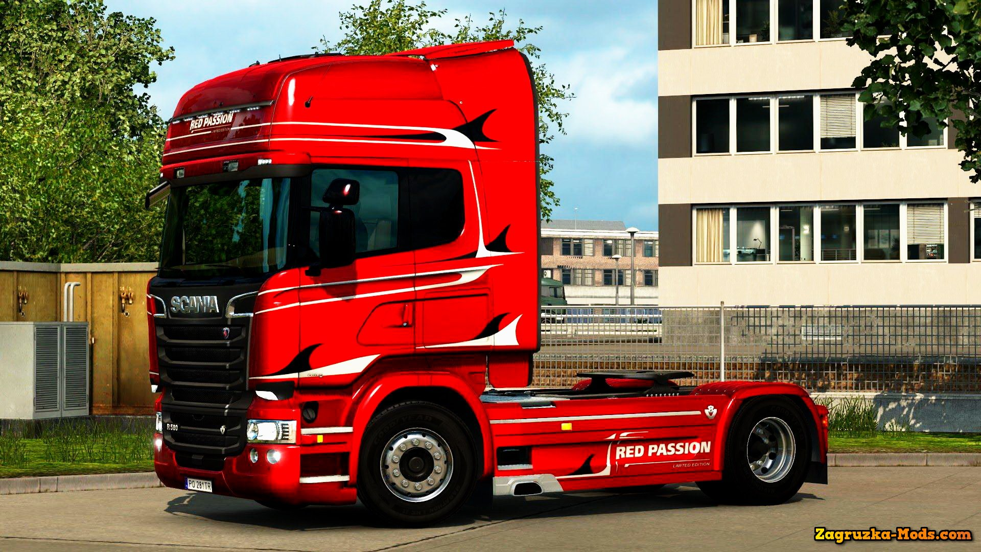 Scania Streamline Red Passion Limited Edition Skin v1.0 for ETS 2