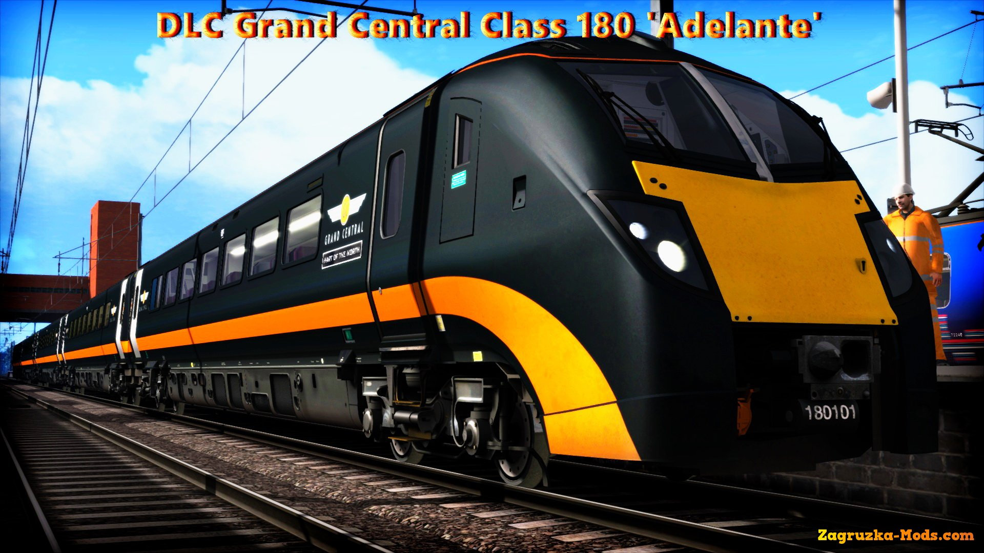 DLC Grand Central Class 180 'Adelante' for Train Simulator 2015