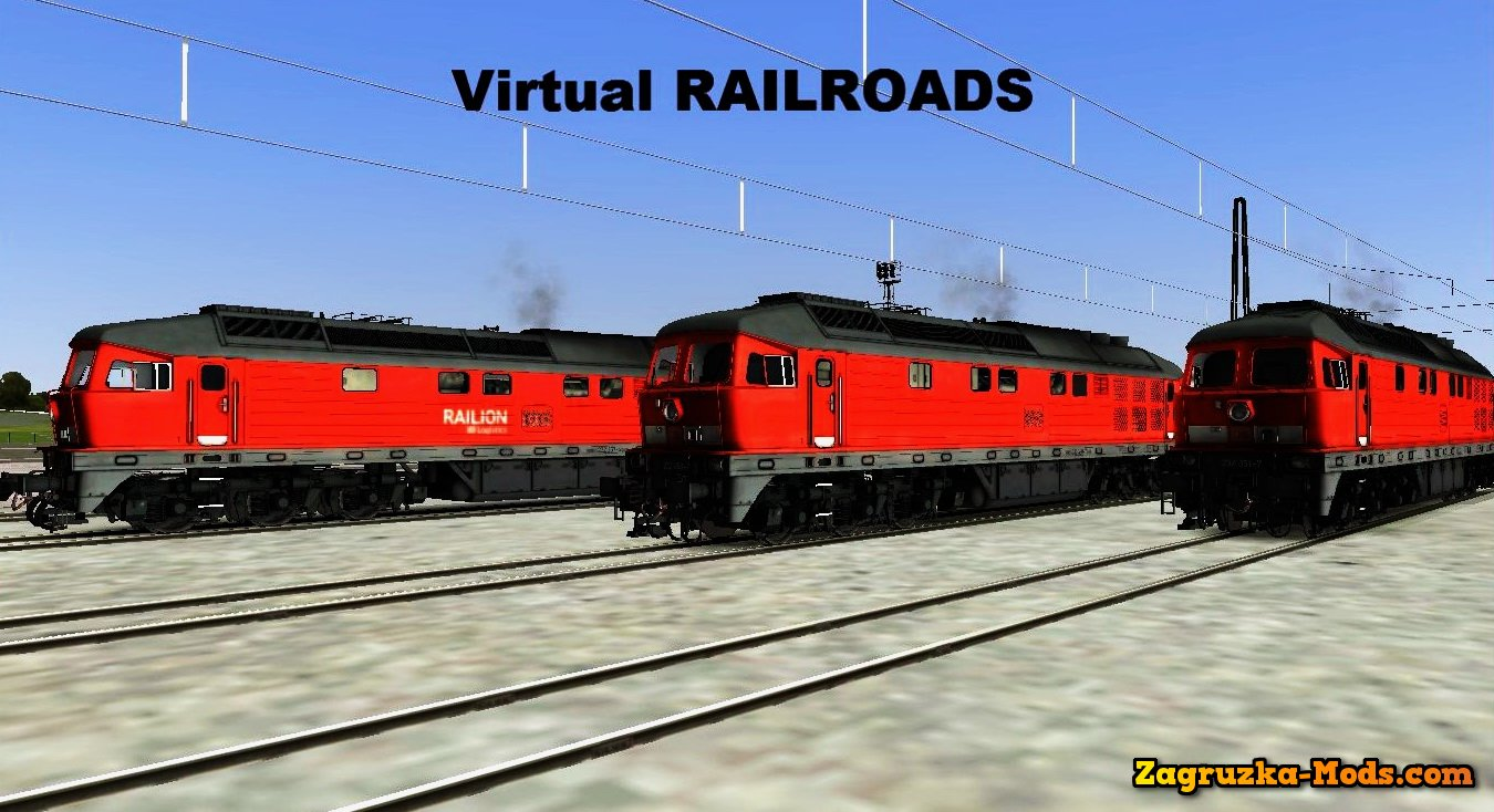 Locomotive BR-232 Lyudmila for Train Simulator 2015
