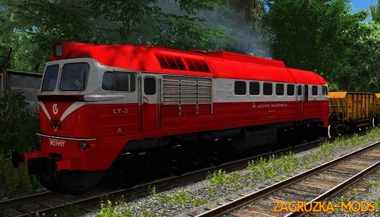 Diesel Locomotive M62 1157 for Train Simulator 2015