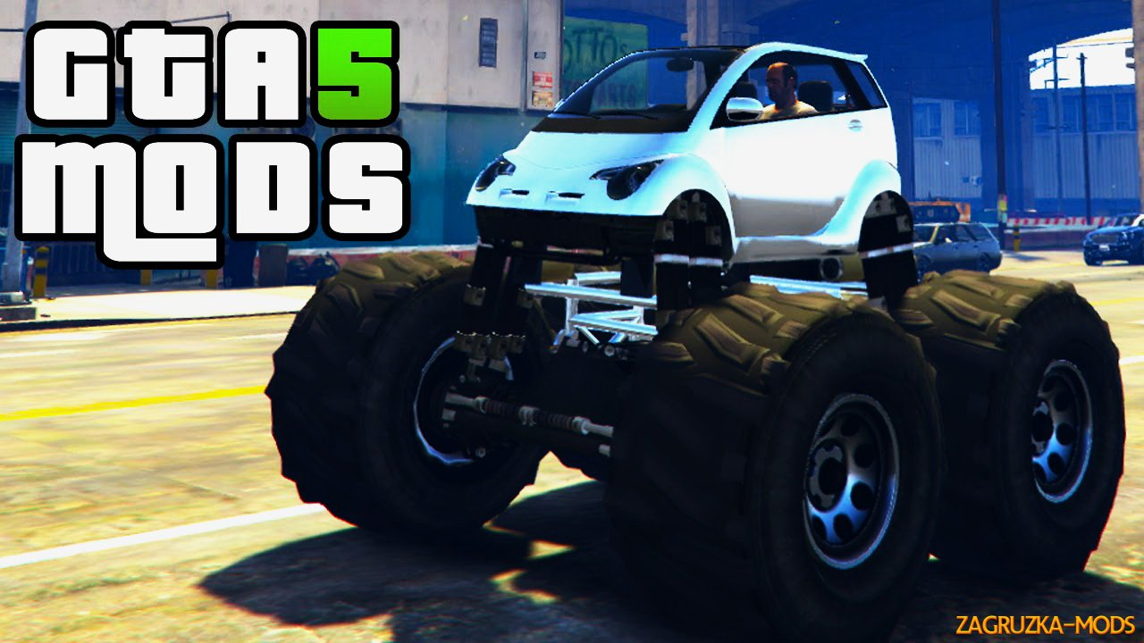 Panto Monster Truck v1.0 for GTA 5