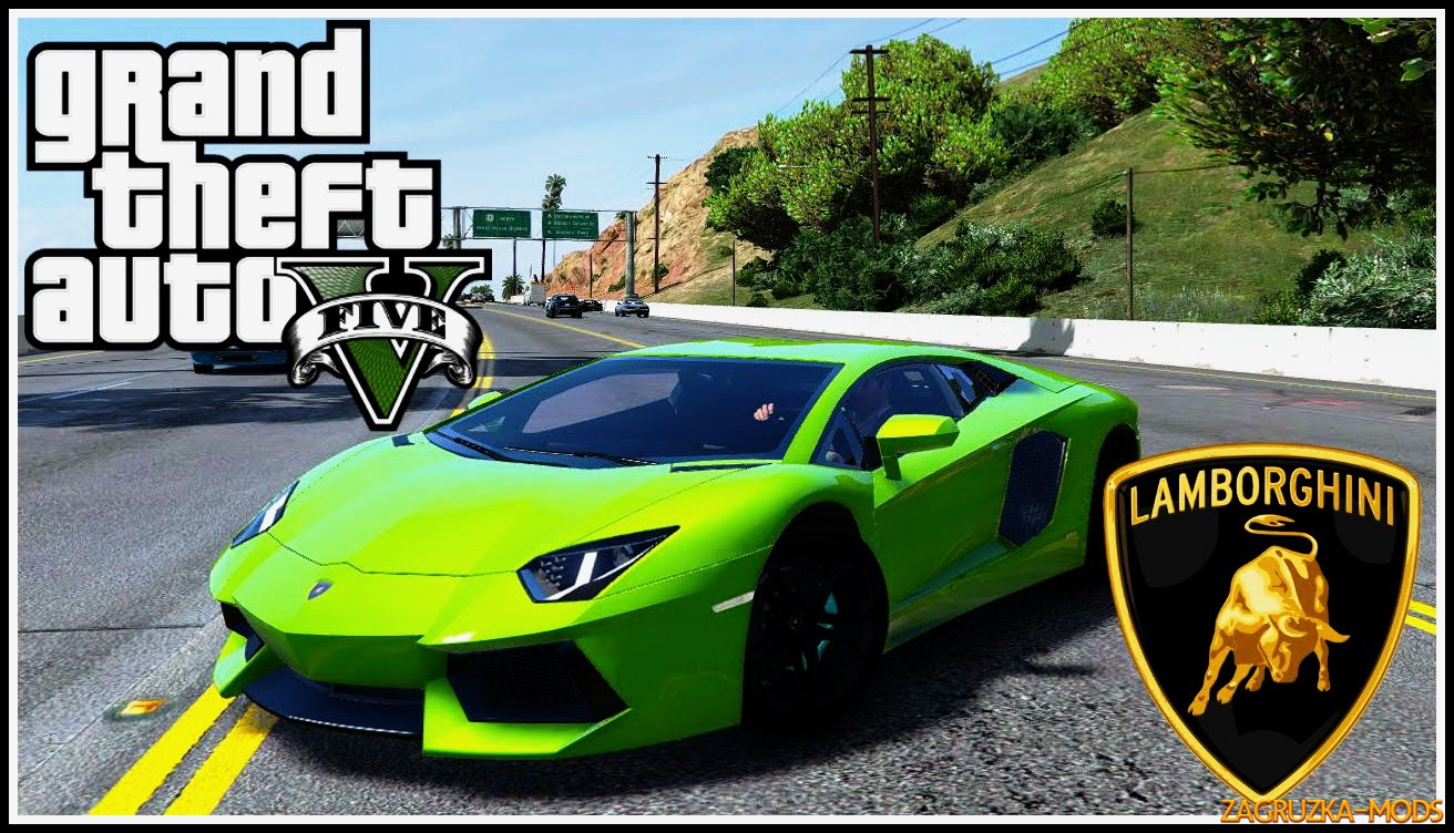 Lamborghini Aventador LP700-4 v0.2 for GTA 5