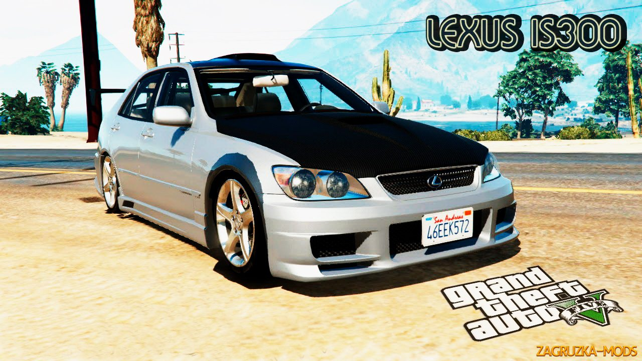 Lexus IS300 Tunable v0.9 for GTA 5
