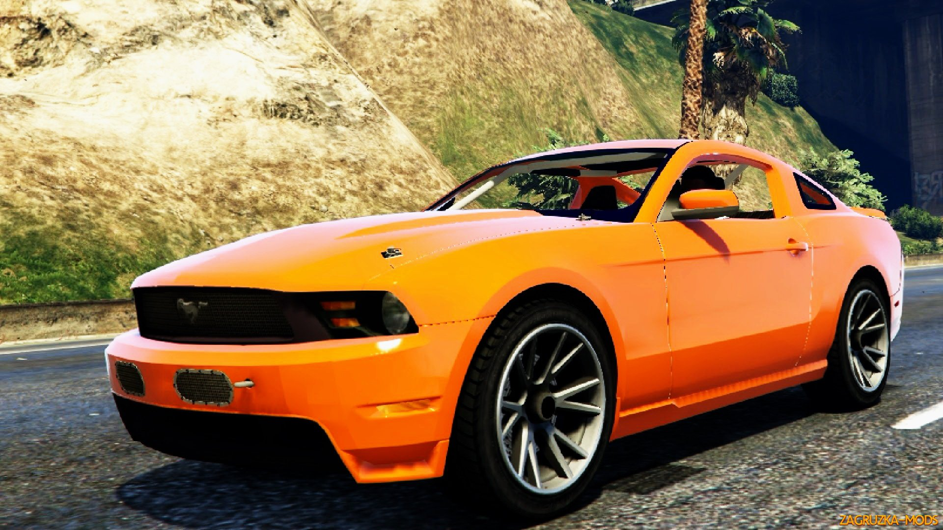 Mustang 302 BOSS 2012 v1.1 for GTA 5