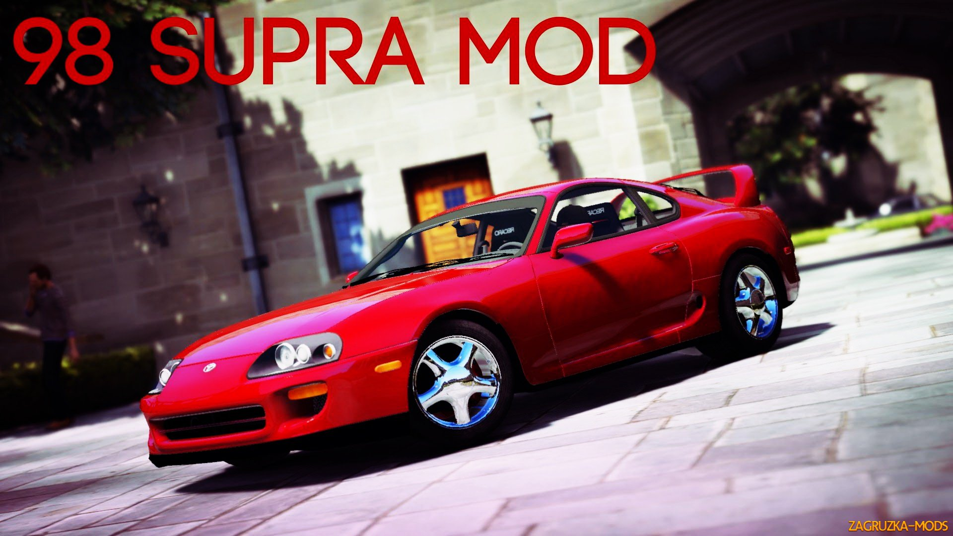 Toyota Supra RZ 1998 v1.0 for GTA 5