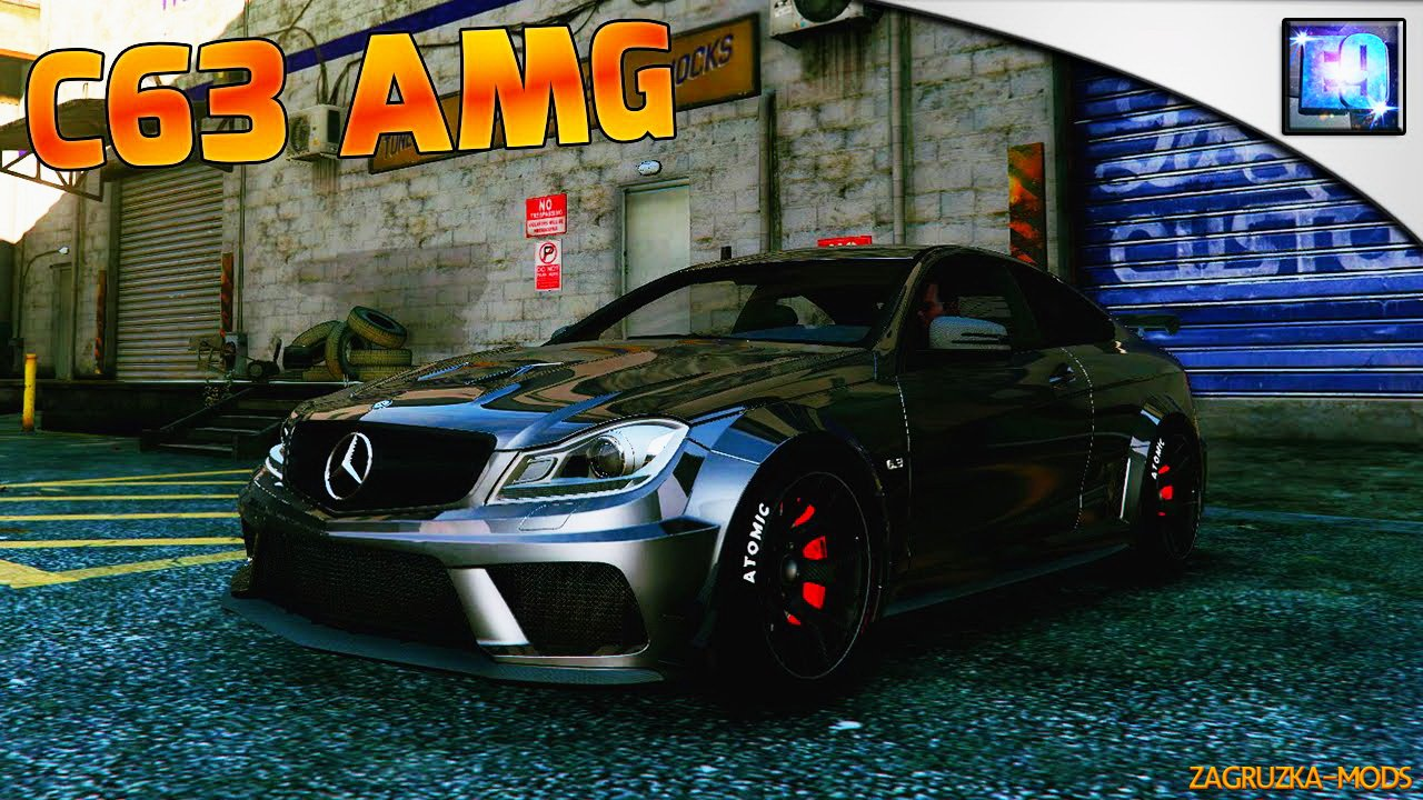 Mercedes-Benz C63 AMG Black Series v1.0 for GTA 5