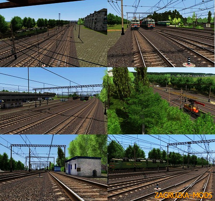 Route Belorechensk-Maikop v1.0 for Train Simulator 2015