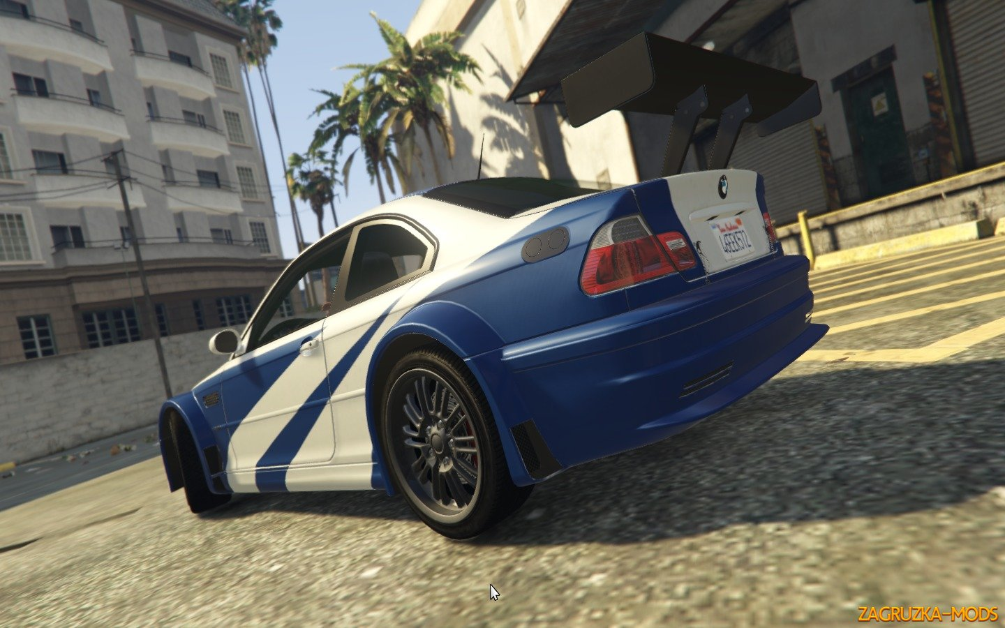 Bmw M3 Gtr E46 Need For Speed Most Wanted V1 3 For Gta 5 Simulator Mods Ets 2 Ats Fs17 Csgo Gta 5 Train
