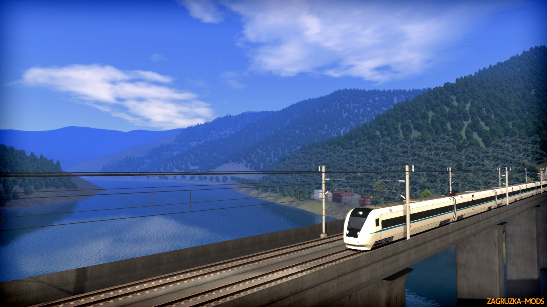 Chengdu - Suining High Speed Route for Train Simulator 2015