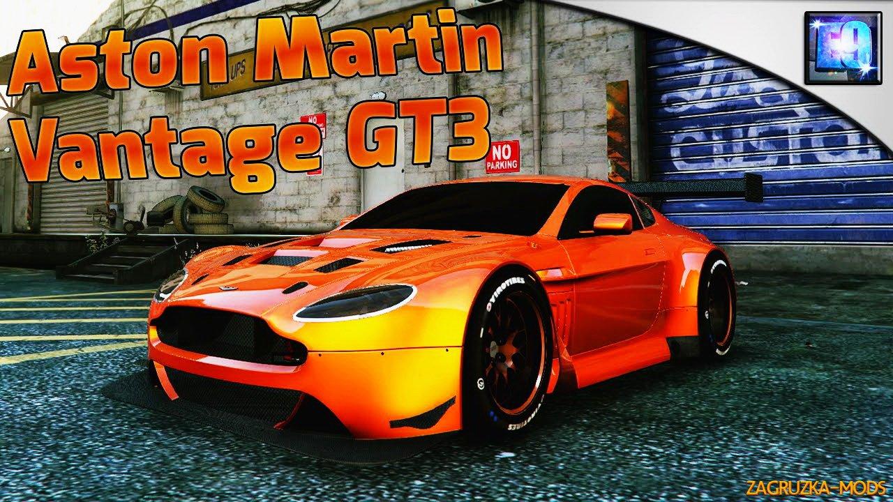 Aston Martin Vantage Gt3 V1 1 For Gta 5 Simulator Mods Ets 2 Ats Fs17 Csgo Gta 5 Train
