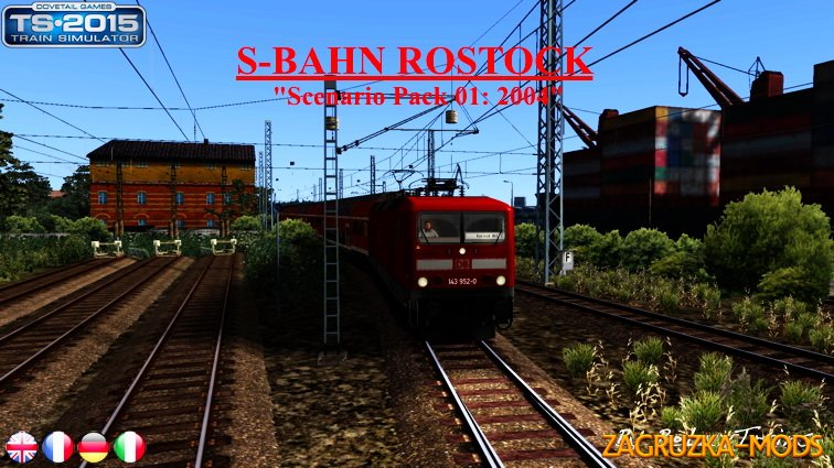 "Scenarios Pack 01 ""S-Bahn Rostock"" for Train Simulator 2015"