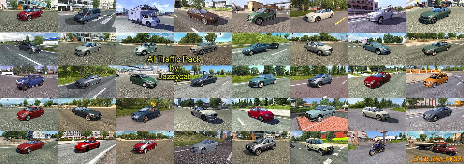 AI TRAFFIC PACK BY JAZZYCAT V3.1