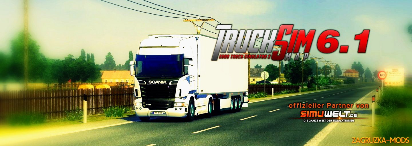 Trucksim Map v6.1 (1.21.x)