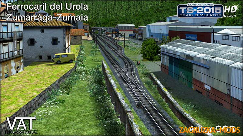 Route FFVV Urola v1.0 for Train Simulator 2015
