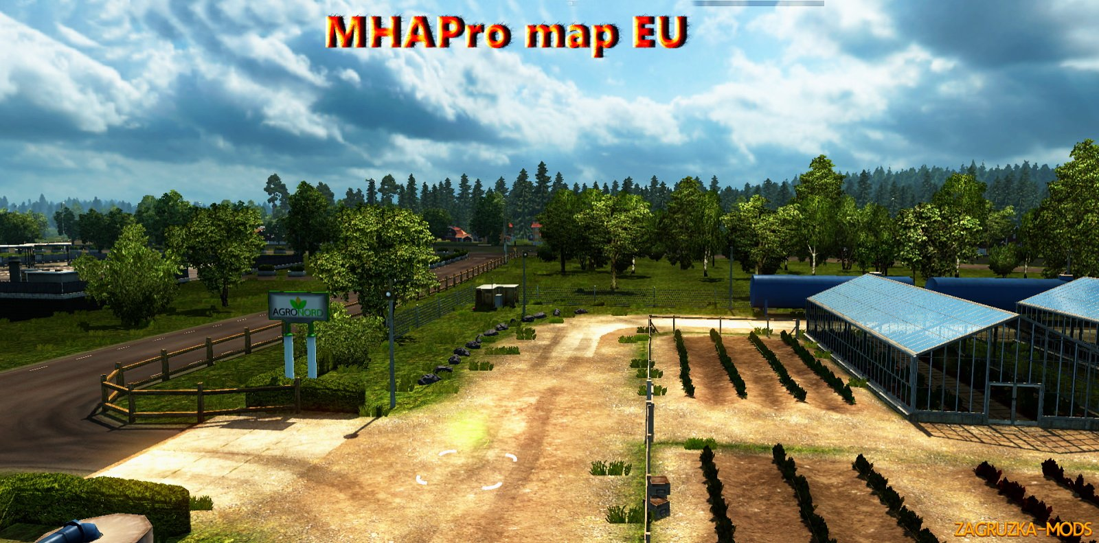 MHAPro Map Eu v2.1 by MsHeavyAlex for ETS 2