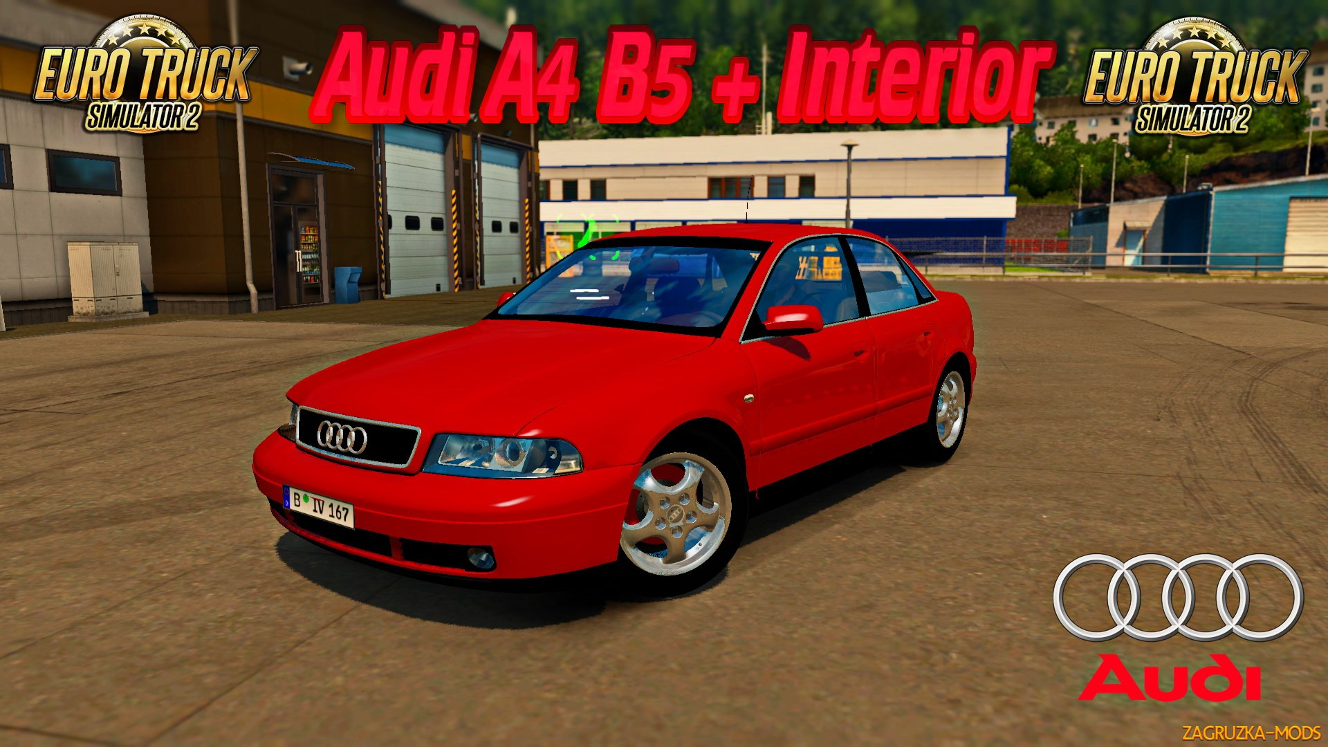 Audi A4 B5 + Interior v1.1 (1.31.x) for ETS 2