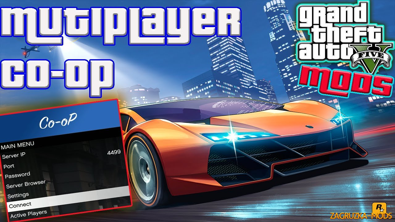 Multiplayer Co-op Script Mod v0.4.1 for GTA 5