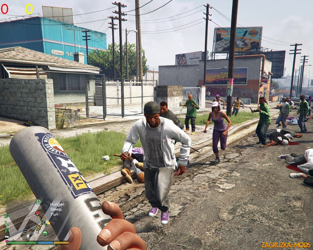 Gang War Reloaded (War-Combat Mod) v1.0 for GTA 5
