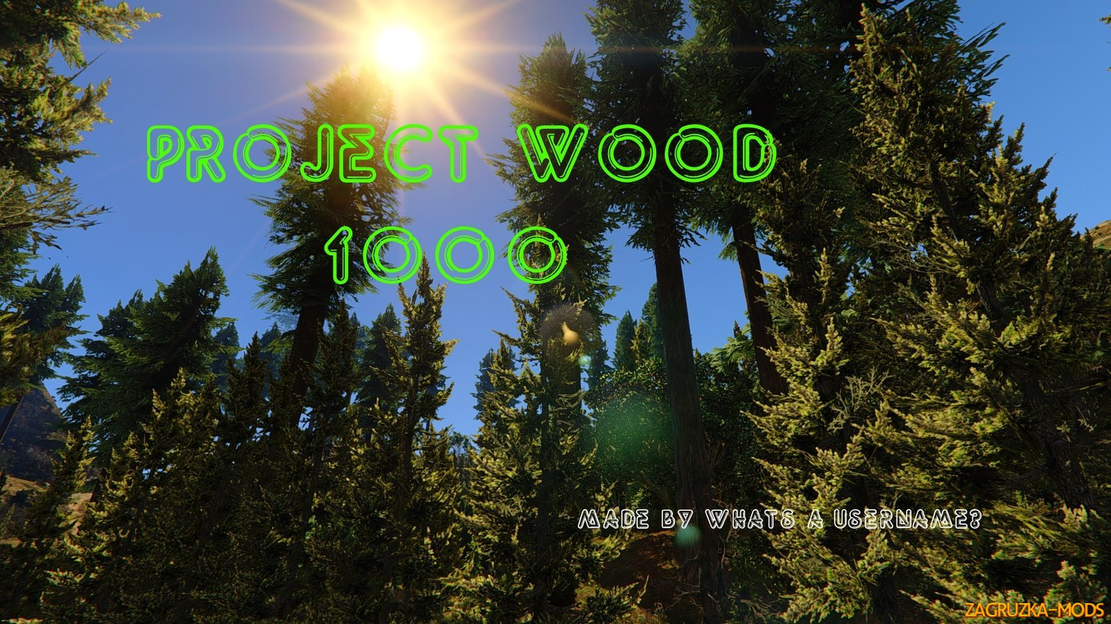 Project Wood (+Treehouse) v3.0 for GTA 5