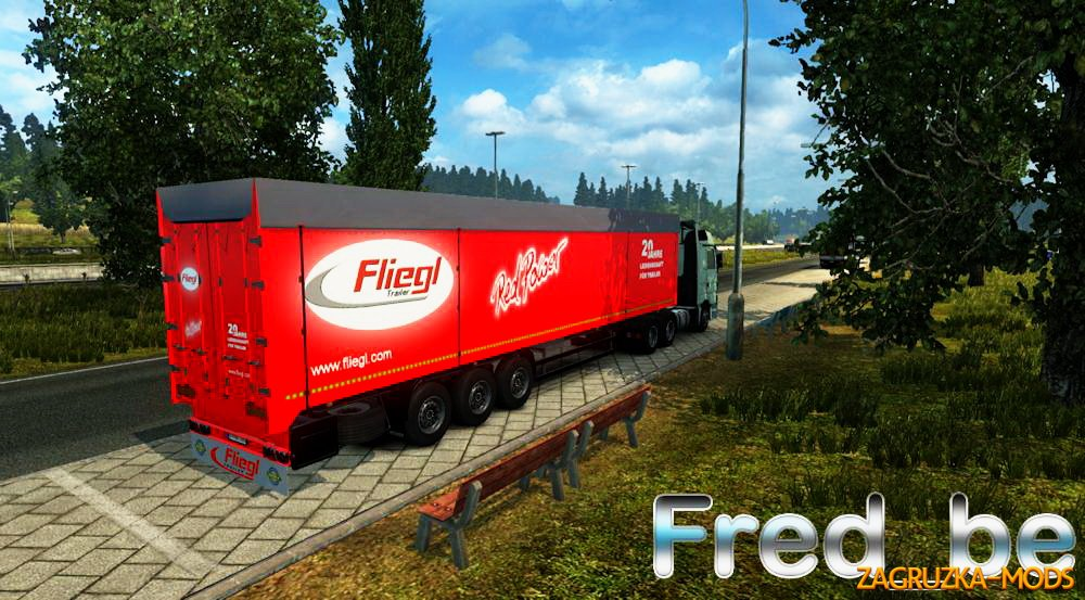 Trailer Bodex Fliegl v1.0 for ETS 2