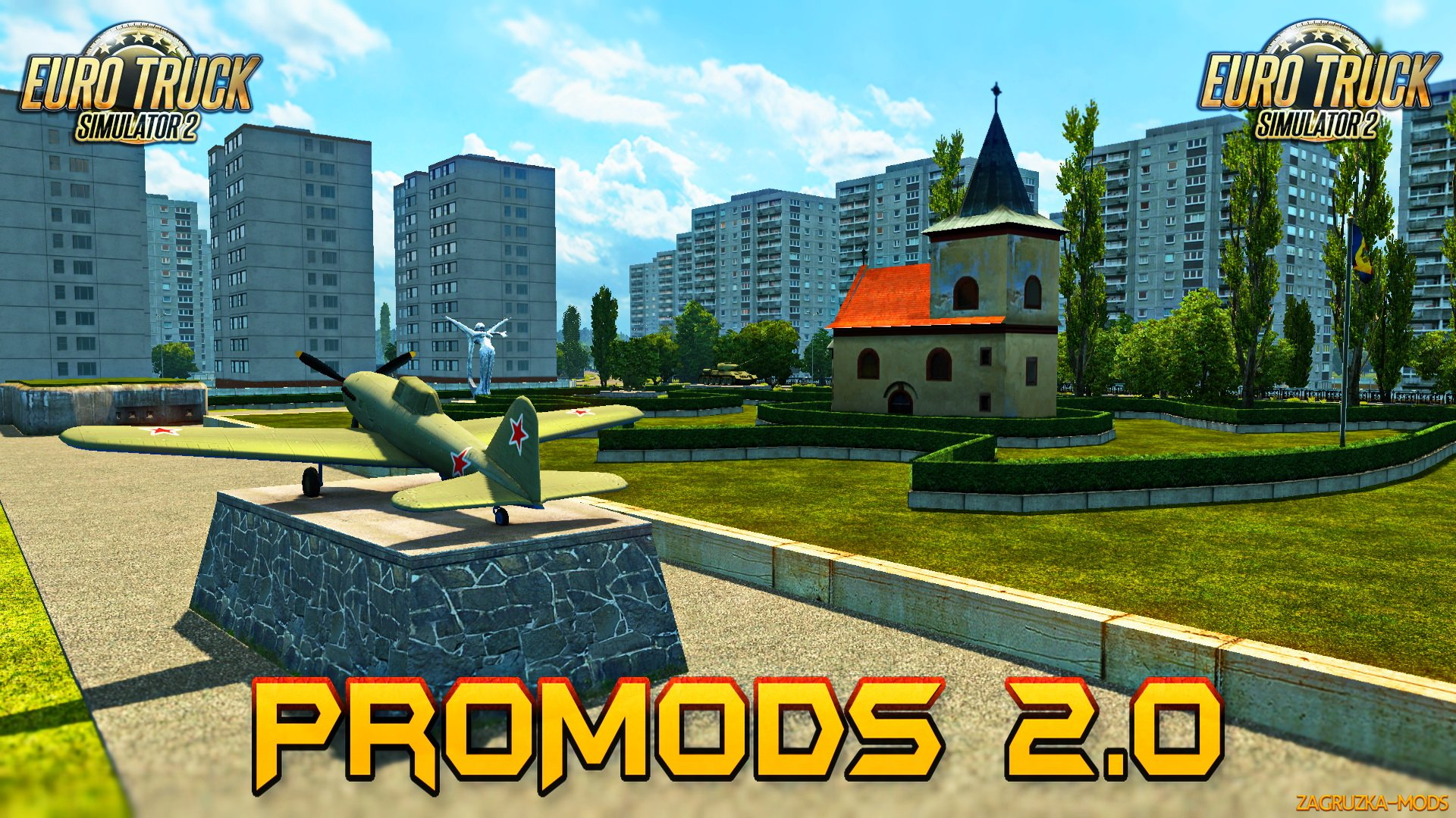 ProMods Map v2.18 (1.28.x) for ETS 2