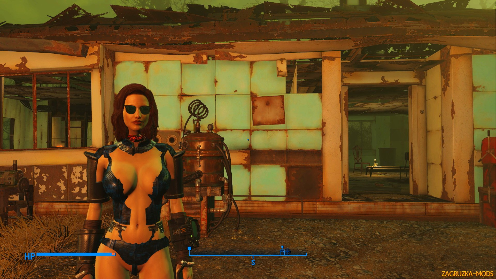 Tactical Slutty Wardrobe CBBE Edition v1.0 by GB for Fallout 4