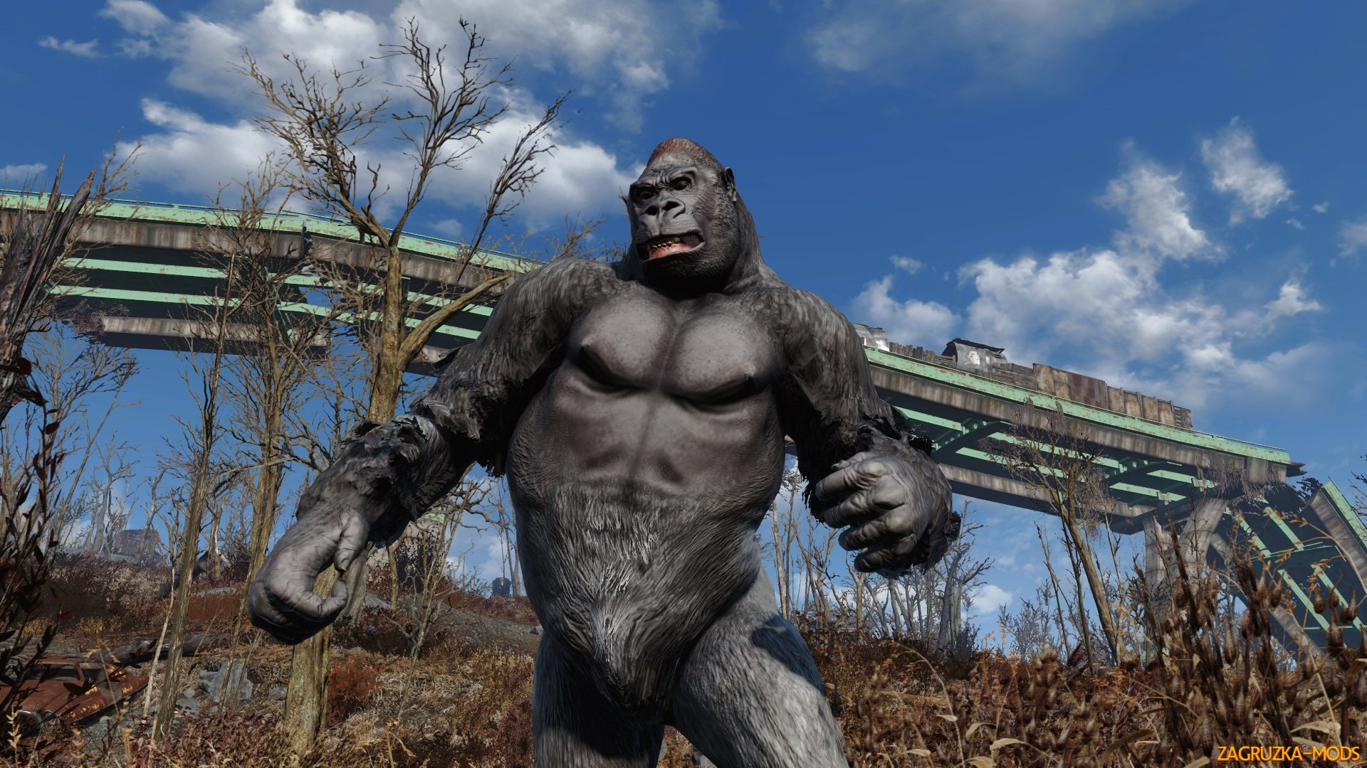 Wasteland of the Apes v1.0 by Sursion for Fallout 4