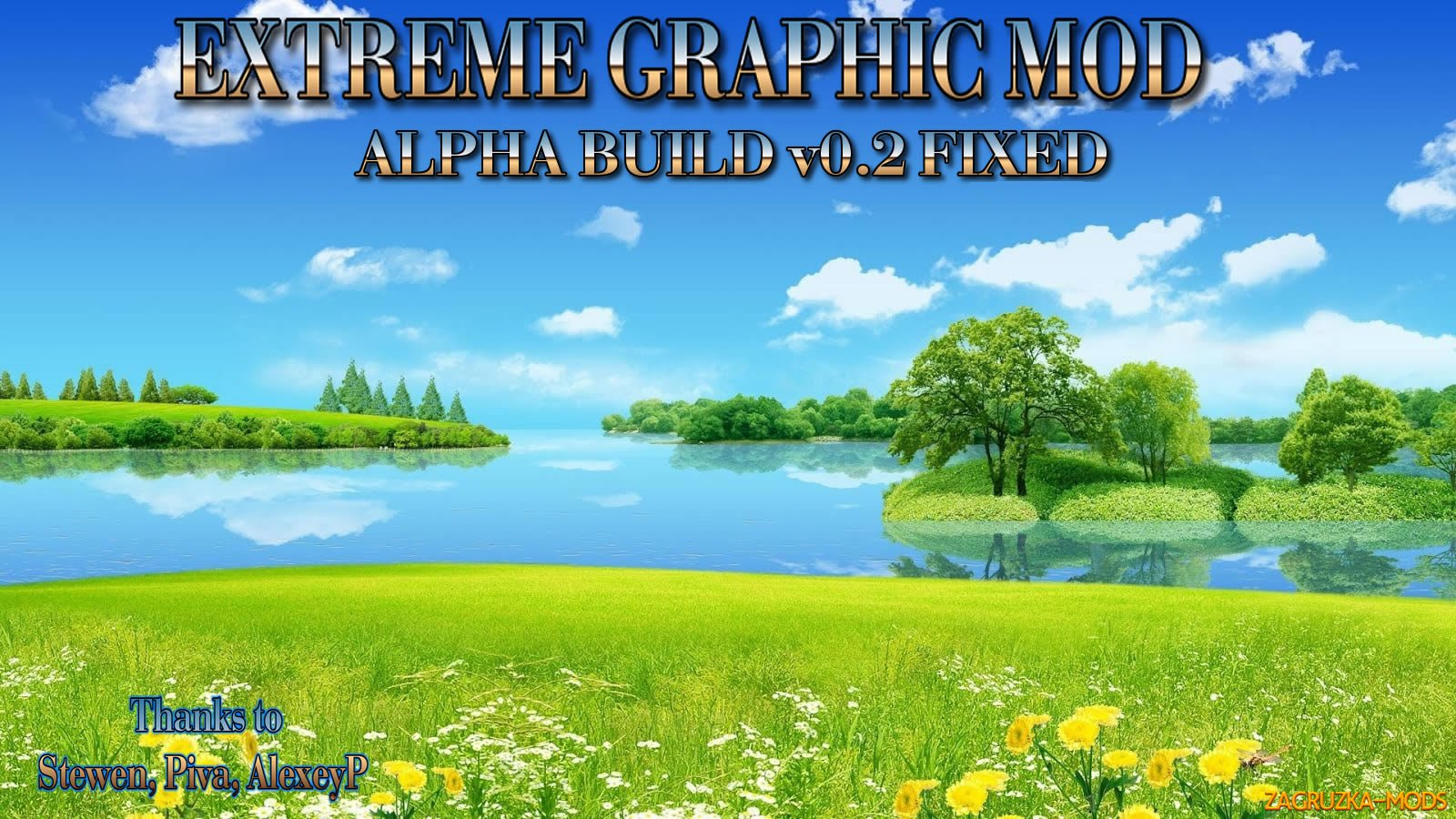Extreme Graphic Mod v0.2 by BLiNKT for ETS 2