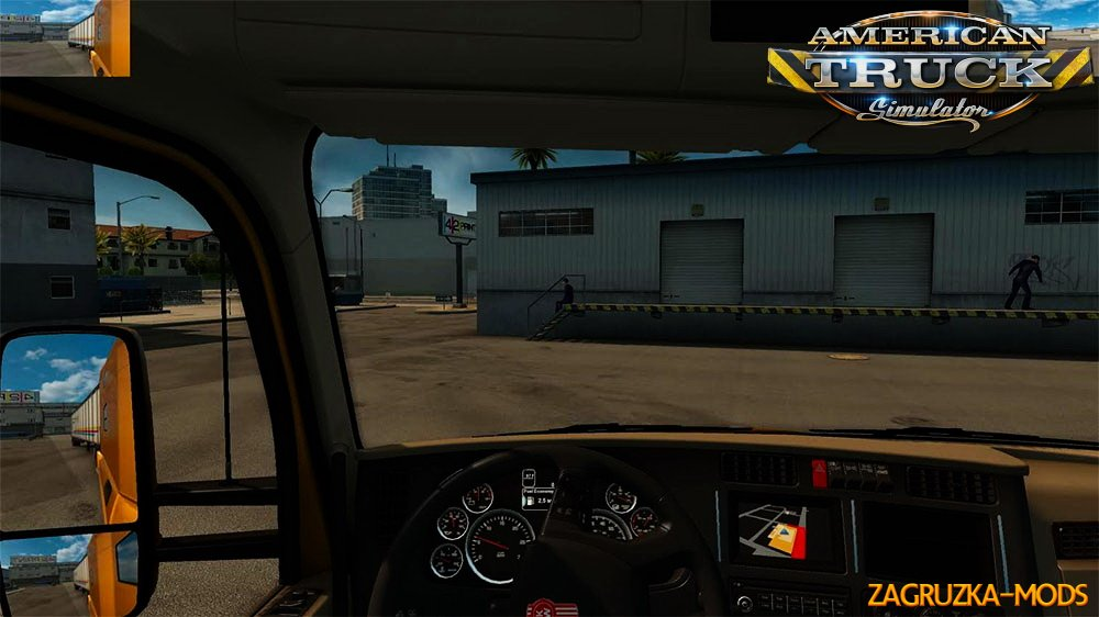 Small Mirrors Mod v1.0 for ATS