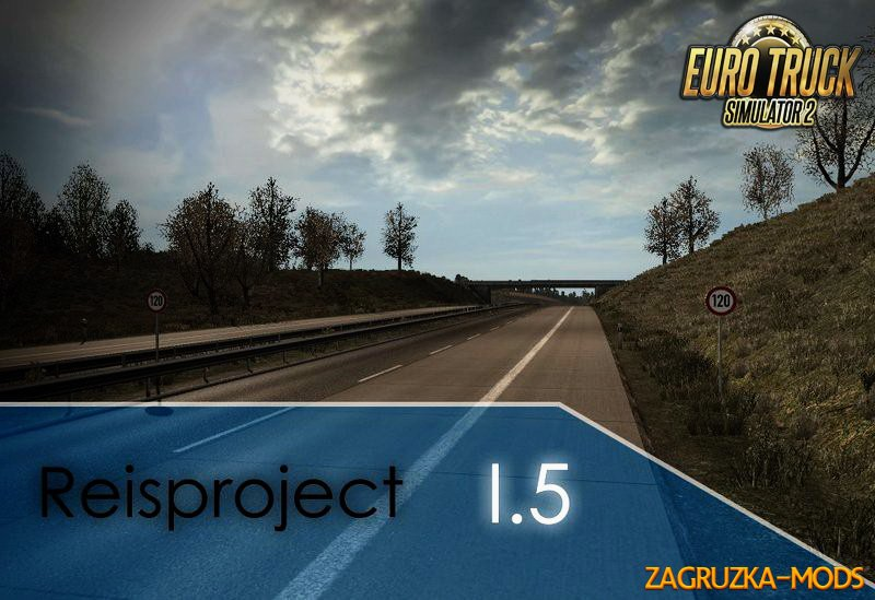 Reisproject Map 1.5 (1.22.x) for ETS 2