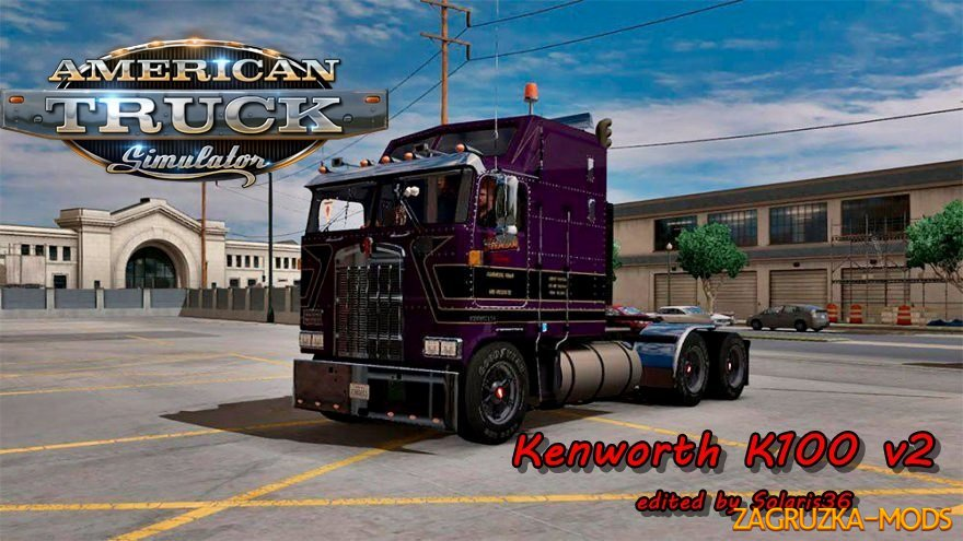 Kenworth K100 v2 (edited) by Solaris36 for ATS