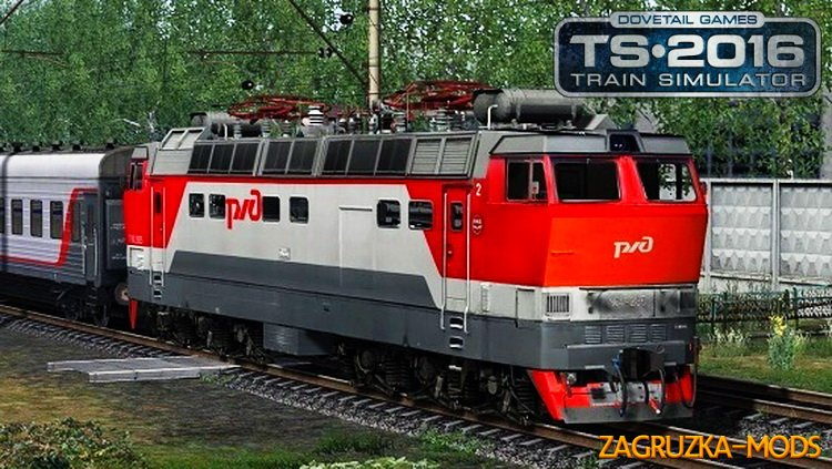 Electric Locomotive ChS4t-285 (Beta) for TS 2016