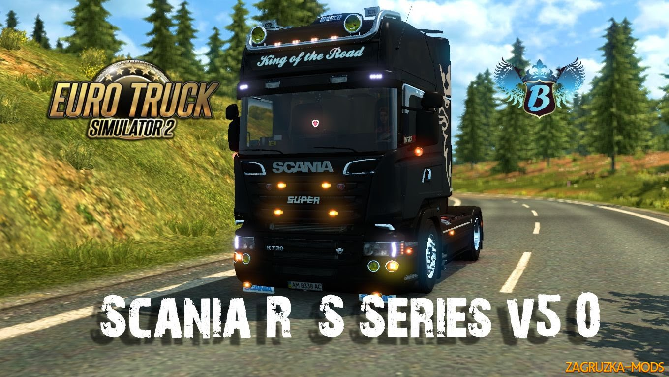 Scania R & S Series v5.0 for ETS 2