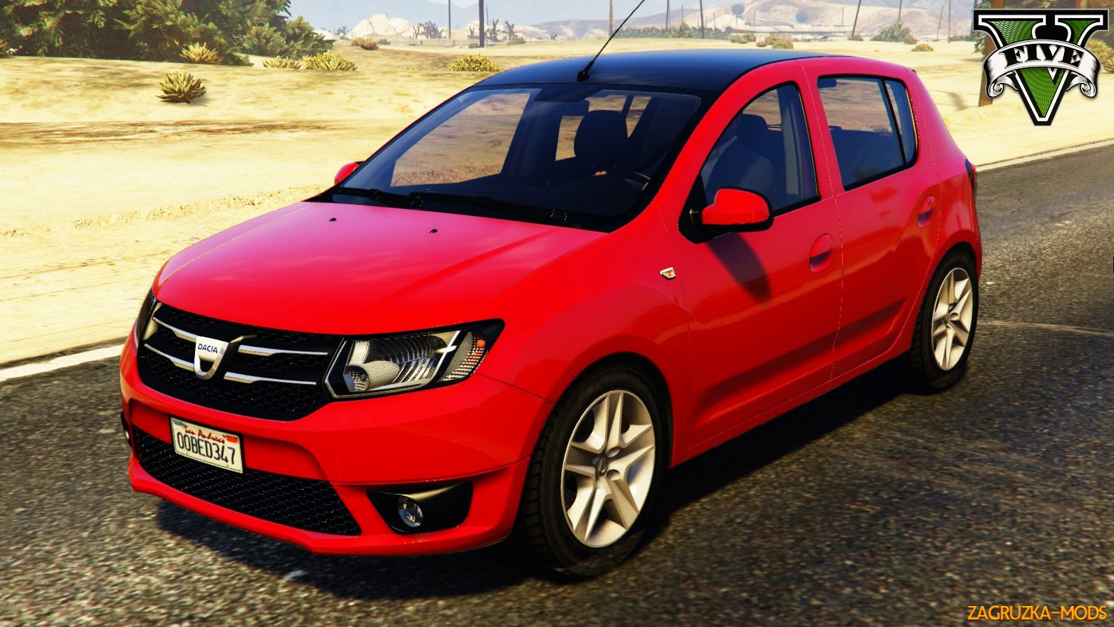 Dacia Sandero 2014 v1.0 for GTA 5