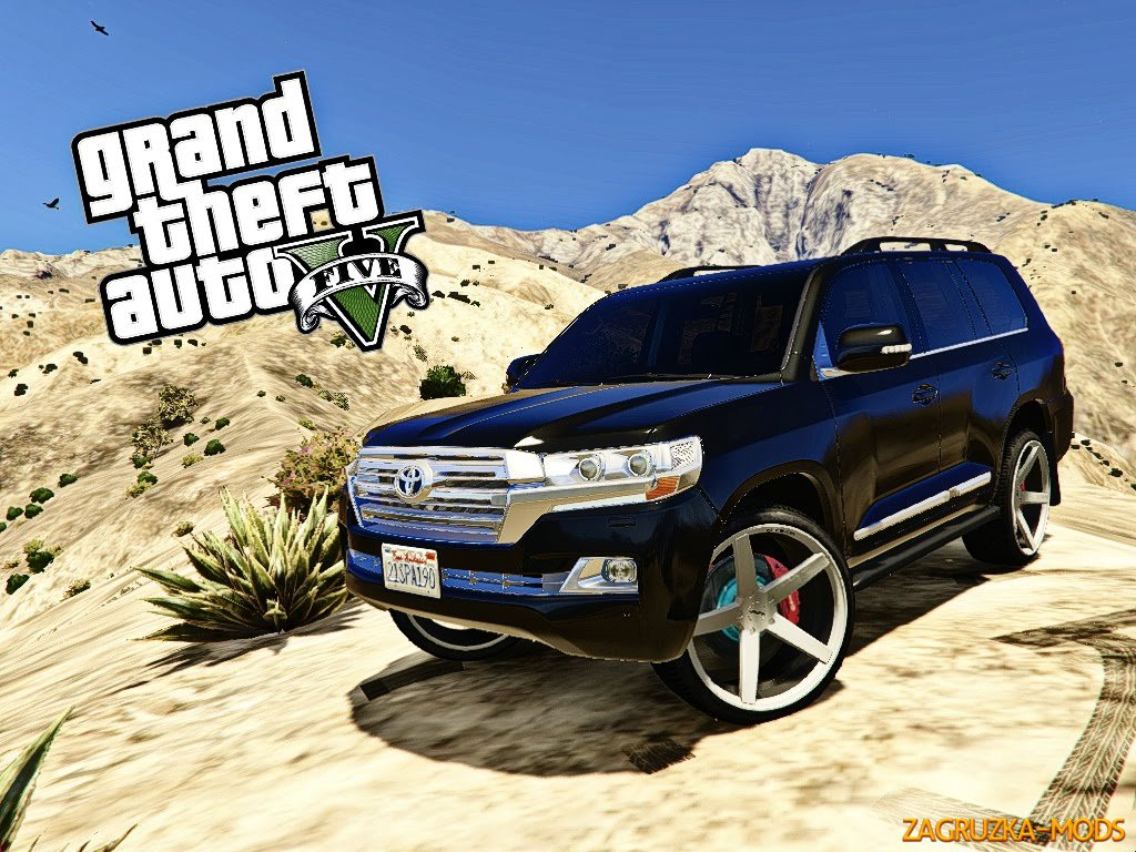 Toyota Land Cruiser 200 2016 v1.2 for GTA 5
