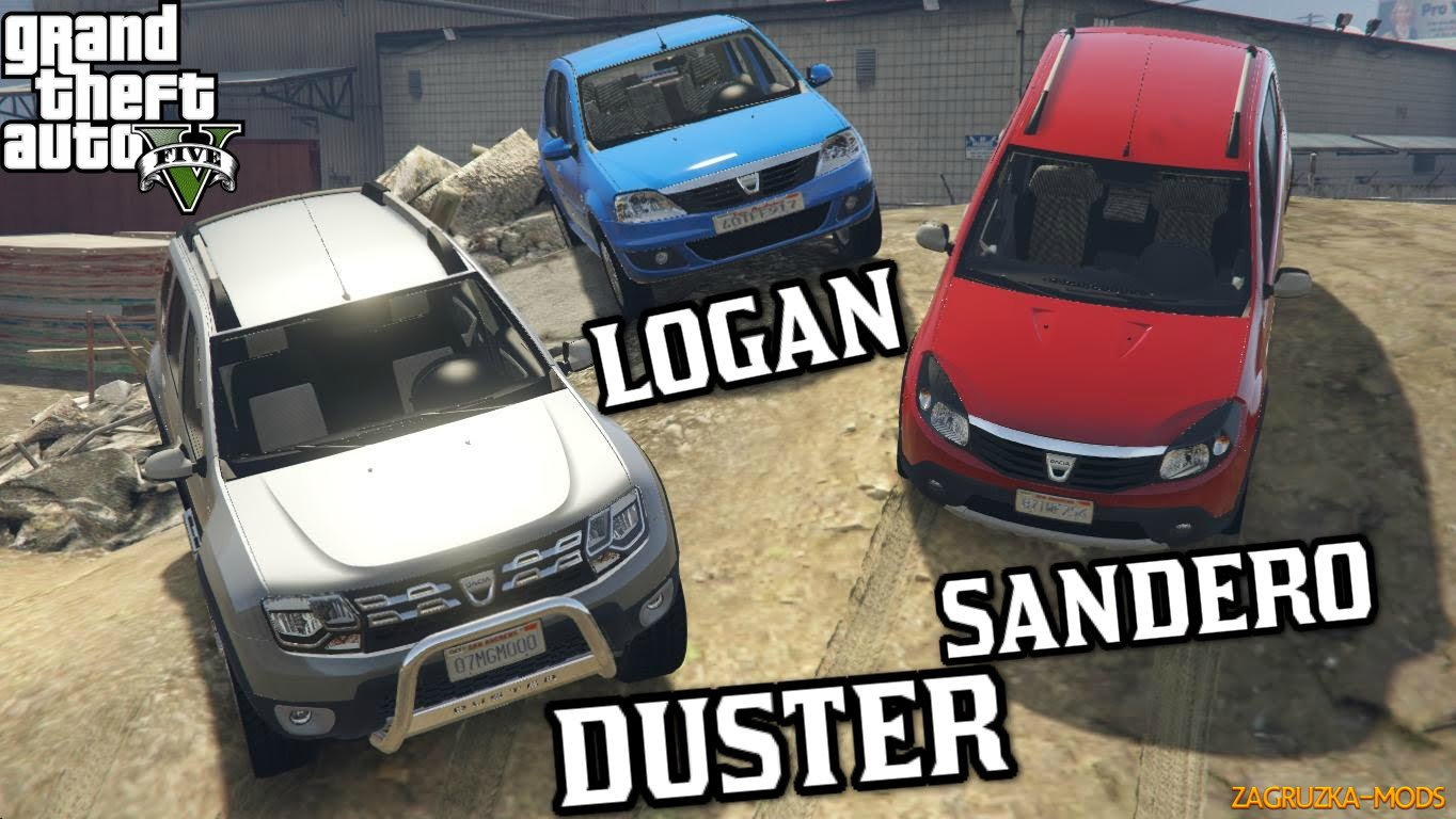 Dacia Cars Pack v1.0 for GTA 5