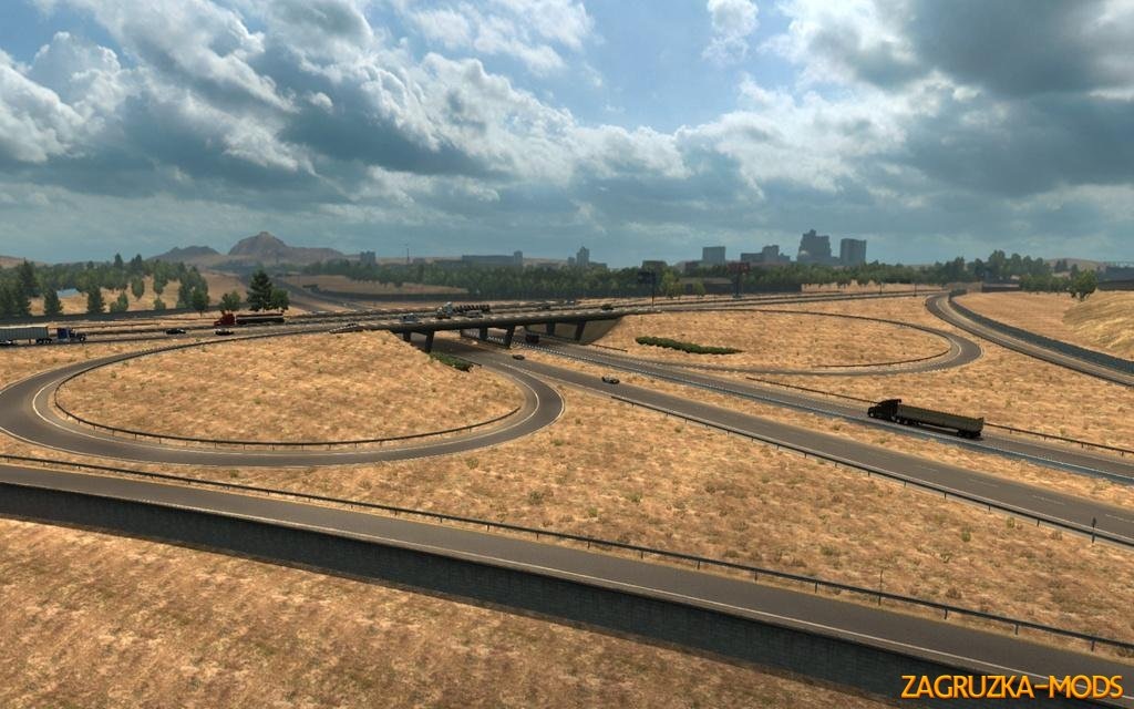 ATS I-80/I-580 Interchange in Reno v1.1b